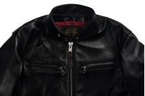 Iron Heart Horsehide Leather Jacket - Black Battle Edition - Image 9