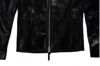 Iron Heart Horsehide Leather Jacket - Black Battle Edition - Image 8
