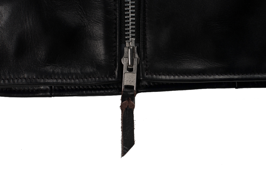 Iron Heart Horsehide Leather Jacket - Black Battle Edition - Image 7