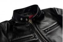 Iron Heart Horsehide Leather Jacket - Black Battle Edition - Image 6
