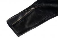 Iron Heart Horsehide Leather Jacket - Black Battle Edition - Image 2