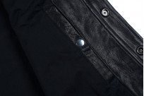 Iron Heart Deerskin Snap Buttoned Shirt - Black - Image 4