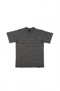 Iron Heart 6.5oz Heavy Loopwheeled T-Shirt - Gray - Image 0