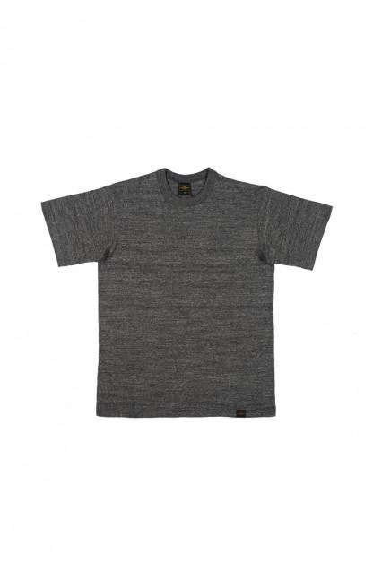 Iron Heart 6.5oz Heavy Loopwheeled T-Shirt - Gray