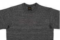 Iron Heart 6.5oz Heavy Loopwheeled T-Shirt - Gray - Image 3