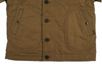 Iron Heart Alpaca-Lined N-1 Deck Jacket - Khaki - Image 12