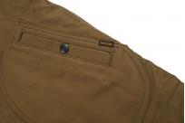 Iron Heart Alpaca-Lined N-1 Deck Jacket - Khaki - Image 11