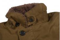 Iron Heart Alpaca-Lined N-1 Deck Jacket - Khaki - Image 10