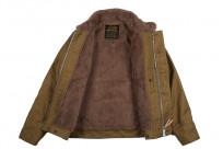 Iron Heart Alpaca-Lined N-1 Deck Jacket - Khaki - Image 5