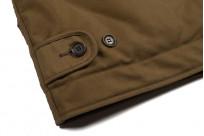 Iron Heart Alpaca-Lined N-1 Deck Jacket - Khaki - Image 4