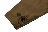 Iron Heart Alpaca-Lined N-1 Deck Jacket - Khaki - Image 2