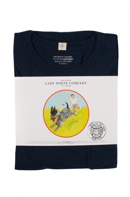 Lady White Pocket Tee 2-Pack - Black/Navy Clark