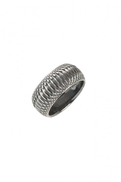 Neff Goldsmith Sterling Silver Inverted Soul Ring