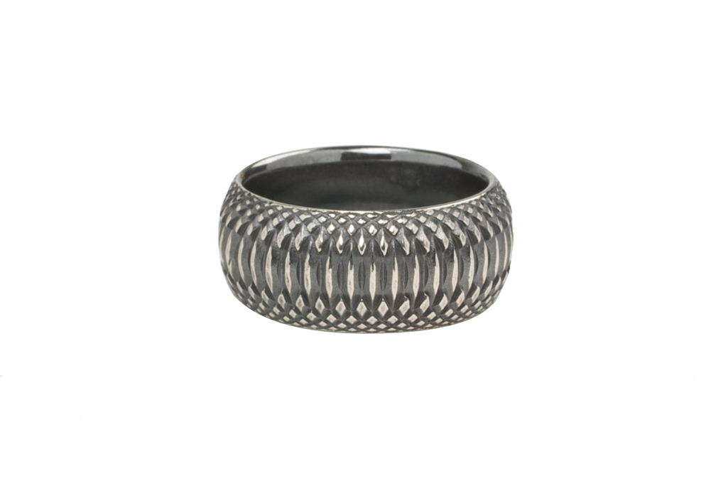 Neff Goldsmith Sterling Silver Inverted Soul Ring - Image 2