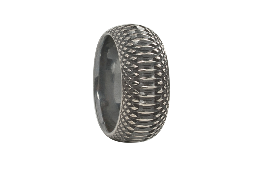 Neff Goldsmith Sterling Silver Inverted Soul Ring - Image 3