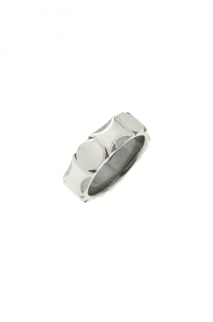 Neff Goldsmith Sterling Silver Back Bar Ring
