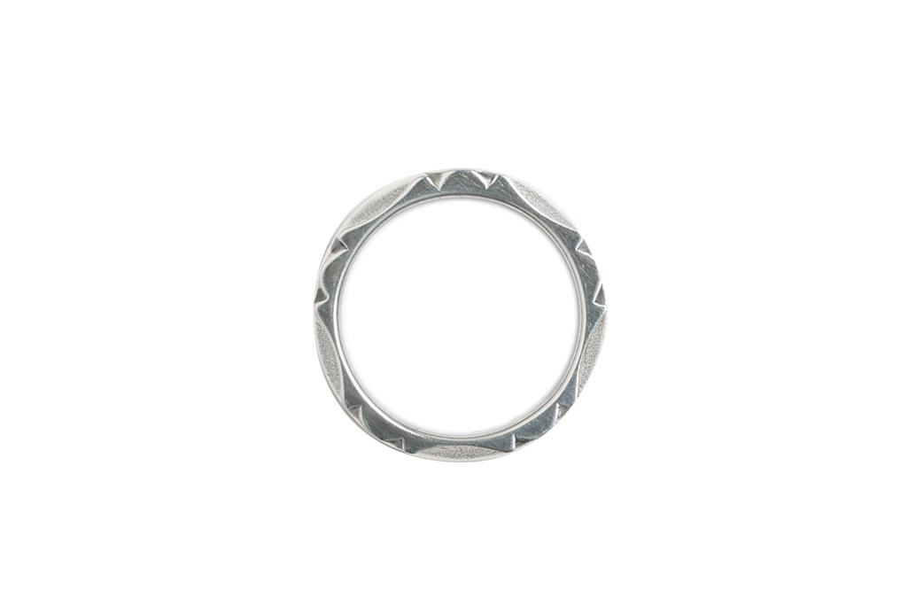 Neff Goldsmith Sterling Silver Back Bar Ring - Image 1