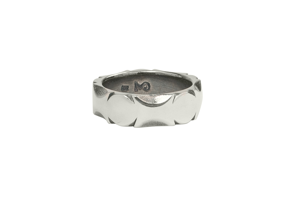 Neff Goldsmith Sterling Silver Back Bar Ring - Image 2