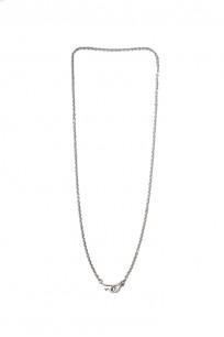 "Neff Goldsmith Link Chain w/ Custom Silver & Gold Clasp - 3mm / 21"" - Image 0"
