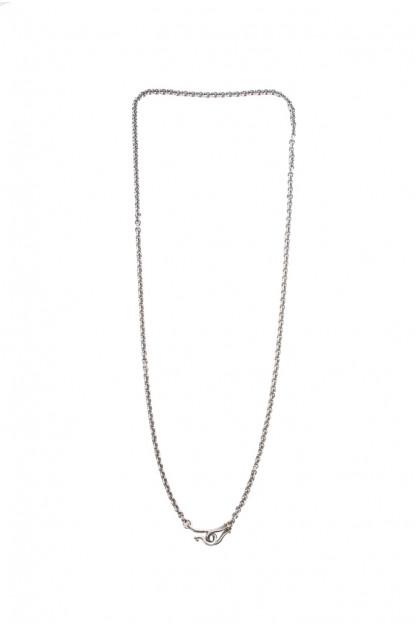 "Neff Goldsmith Link Chain w/ Custom Silver & Gold Clasp - 3mm / 21"""