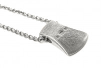 Neff Goldsmith Sterling Silver Necklace & Pendant - Axe Head - Image 7