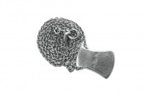 Neff Goldsmith Sterling Silver Necklace & Pendant - Axe Head - Image 5