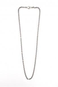 "Neff Goldsmith Link Chain w/ Custom Silver & Gold Clasp - 3mm / 24"" - Image 0"
