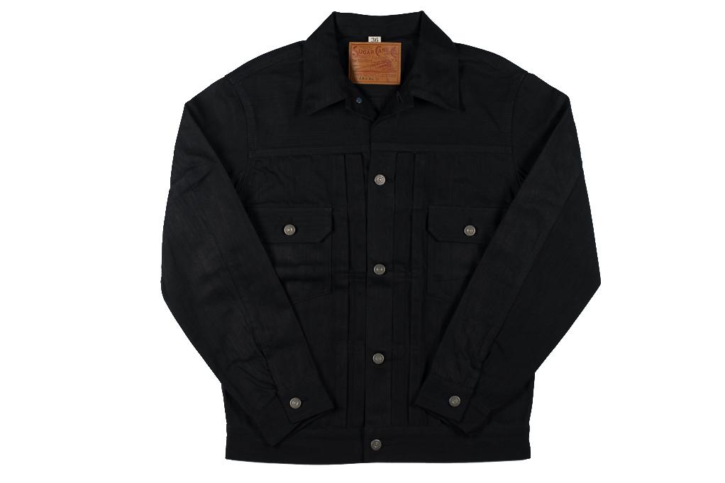 Sugar Cane 1953 Type II Denim Jacket - Black - Image 7