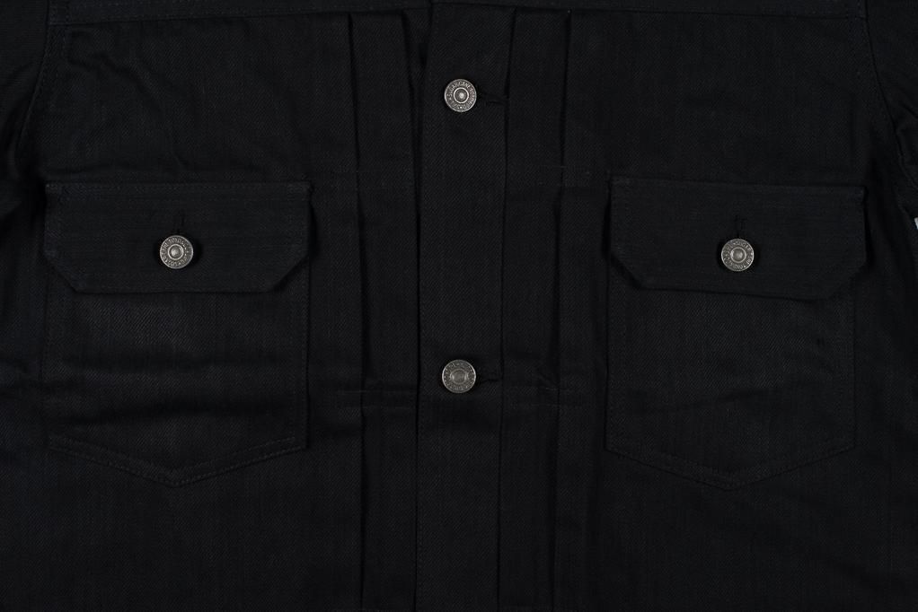 Sugar Cane 1953 Type II Denim Jacket - Black - Image 4