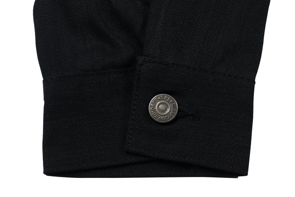 Sugar Cane 1953 Type II Denim Jacket - Black - Image 2