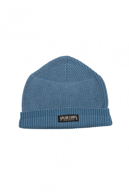 Sugar Cane Indigo-Dyed Watch Cap