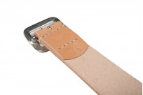 Sugar Cane Cowhide Leather Belt - Tan - Image 2