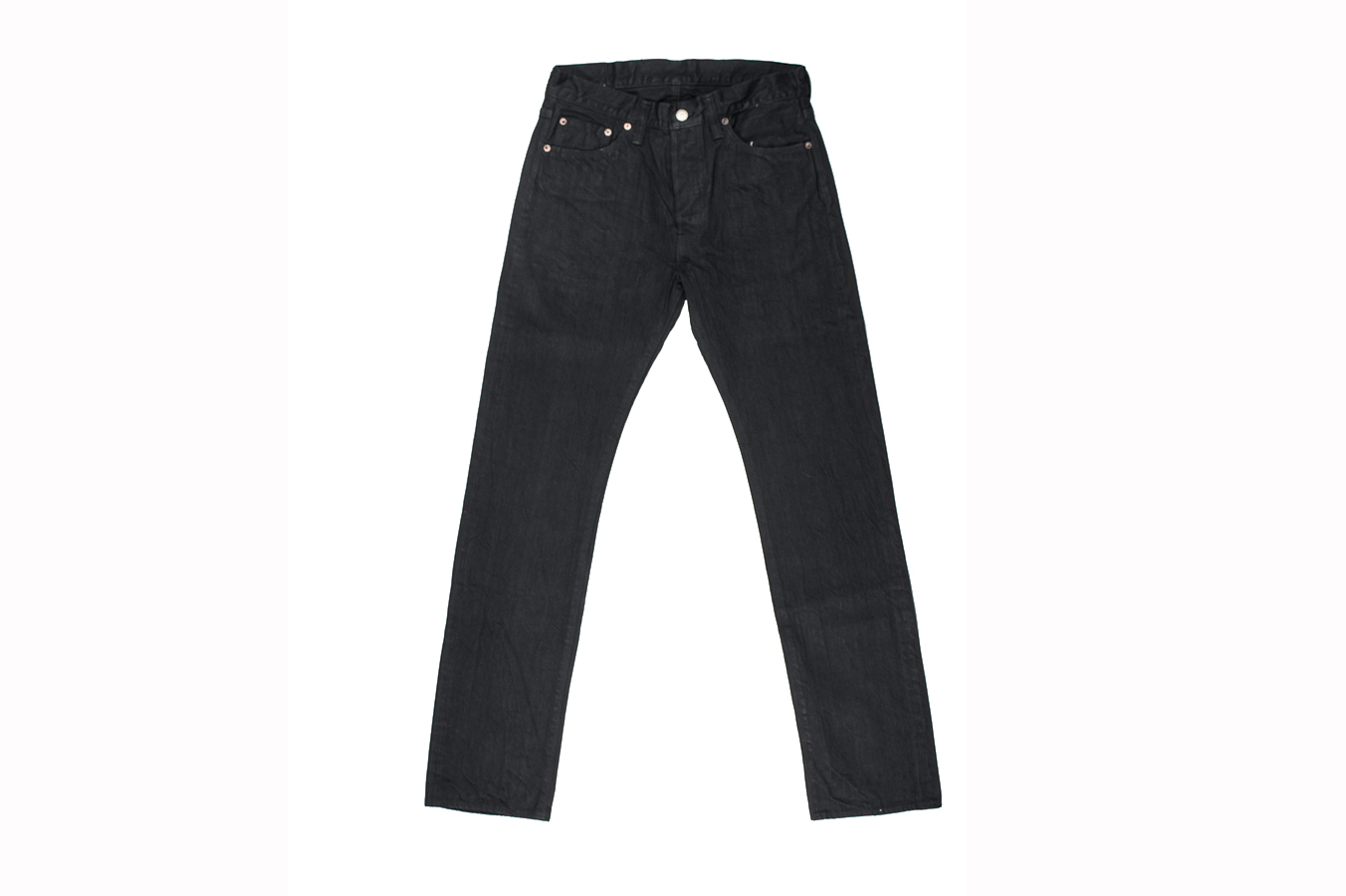 Sugar Cane Type III Black Denim Jeans - Slim - Image 5