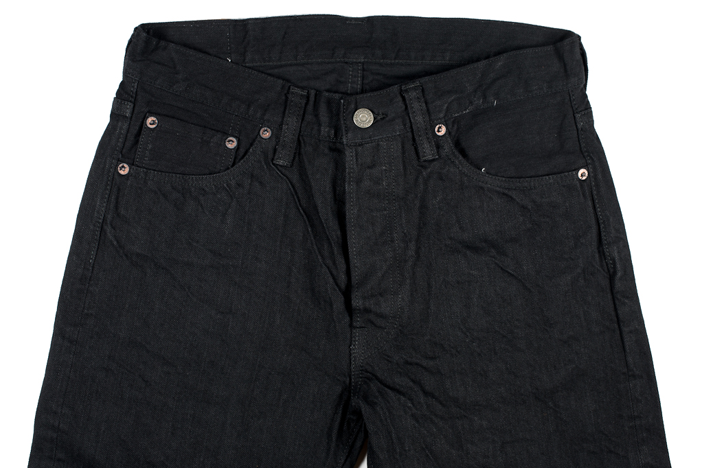 Sugar Cane Type III Black Denim Jeans - Slim - Image 6