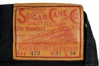 Sugar Cane Type III Black Denim Jeans - Slim - Image 6