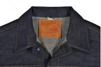 Sugar Cane 1953 Type II Unsanforized Raw Denim Jacket - Image 7