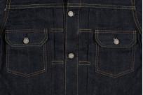 Sugar Cane 1953 Type II Unsanforized Raw Denim Jacket - Image 6