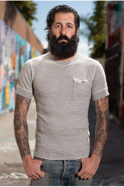 Sugar Cane Fiction & Romance Pocket T-Shirt - Gray