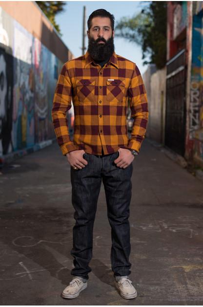 Studio D'Artisan Memphis x Zimbabwe Cotton Fiber jeans - Slim Tapered D1712