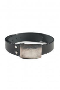 Studio D'Artisan Belt - Steel Buckle Black - Image 0