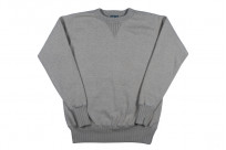 Studio D'Artisan Loopwheeled Sweater - Suvin Gold Heather Gray - Image 2