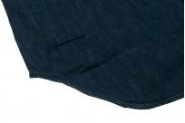 Stevenson Cody Snap Shirt - Washed Down Indigo Denim - Image 2