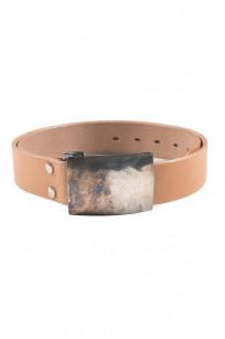 Studio D'Artisan Belt - Steel Buckle Tan - Image 0