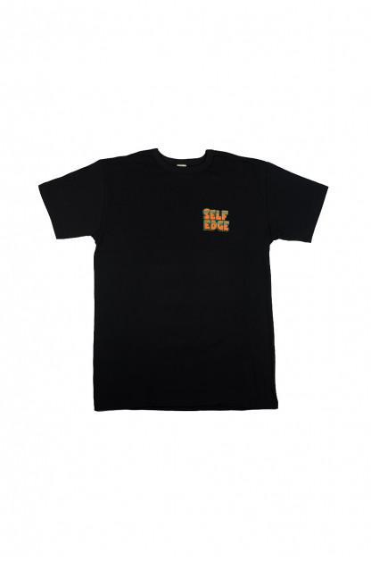 Self Edge x Florian Bertmer South of the Border T-Shirt - Black