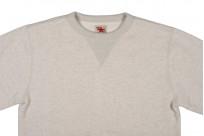 Strike Gold Heavy Loopwheeled Sweatshirt - Oatmeal - Image 3