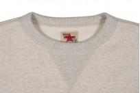 Strike Gold Heavy Loopwheeled Sweatshirt - Oatmeal - Image 2