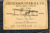 Stevenson 714 Valencia Jean - Straight Tapered - Image 5