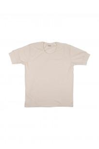 Stevenson Loopwheeled Short Sleeve T-Shirt - Oatmeal - Image 0