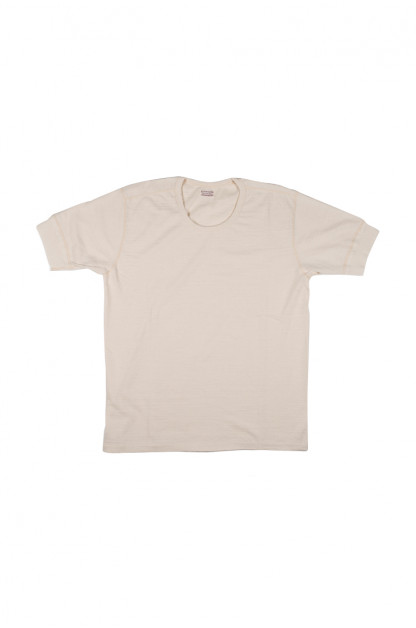 Stevenson Loopwheeled Short Sleeve T-Shirt - Oatmeal