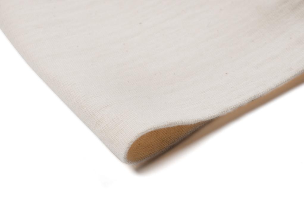 Stevenson Loopwheeled Short Sleeve T-Shirt - Oatmeal - Image 1